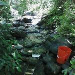 Sluicing at Moccasin Creek.