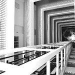 Nice geometry - corridors of the hotel