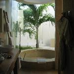 Beautiful open bathroom