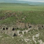 5000 year old cave dwellings on Armenian side