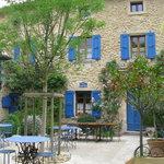 La Bastide Bleue - patio