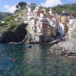 Riomaggiore & la-scogliera marked