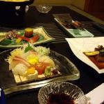 repas kaiseki servi le soir