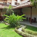 Courtyard of Hotel El Almirante