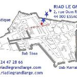 Map - Plan d'accès au Riad