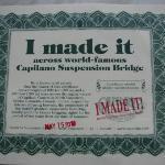 "My ""I made it"" Certificate"