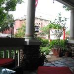 From the Veranda in front of the House