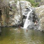 Waterfall at Quimixto