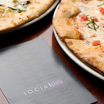 All pizzas are baked in our authentic Rosito Bisani wood-burning pizza oven shipped directly fro