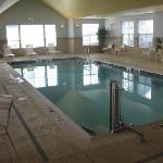 Saline swimming pool - no nasty chlorine!