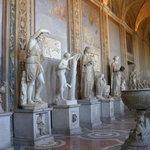 sooooo many statues