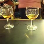 Whiskey tasting right at the hotel!