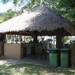campsite camp kitchen