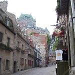 Old Qld Quebec Street and Chateau Frontenac