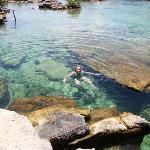 Snorkeling in Yul-Kul Lagoon