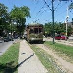 Our first streetcar ride!