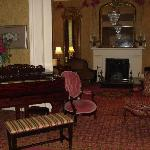 Inside parlor