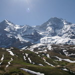 The Eiger, the Mönch and the Jungfrau