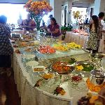 Buffet Table at Orchids