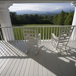 The Great Smoky Mountains surround our scenic bed and breakfast.