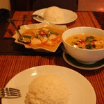 Paneng Curry and Red Curry