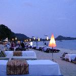 Nearby Lamai Beach - Choice of dinner by the beach