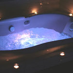 Fabulous wet area with whirlpool tub