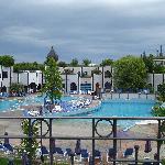 Hotel Rogner: piscine termali esterne