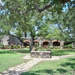 Beautiful grounds at Mission Espada