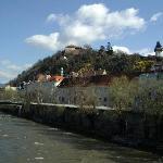 Grazer Schlossberg mit dem Uhrturm