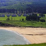 Whale Cove's private beach