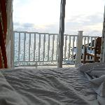vista desde mi habitacion al mar