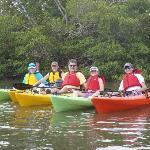 Family Kayak Line Up!