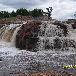 Falls at Falls Park, Sioux Falls, SD