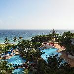 Hilton hotel pools