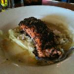 Tea Leaf Encrusted Salmon