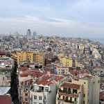 A view of Istanbul from the Galata Tower