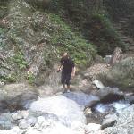 Brad Feliaciano at Kabigan Falls