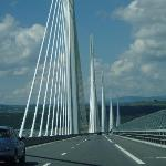 Crossing the Millau Bridge