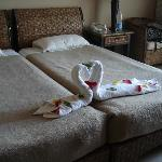 Unser Zimmer, Handtuchfiguren