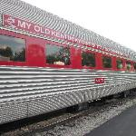 Three available dining cars, we rode in 777