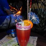 Serve a large variety of tasty cocktails that come with sparklers