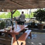 Rooftop Patio with BBQ