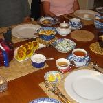 The Asian Fusion breakfast was a true feast for eyes and palate!