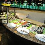 The Sushi area