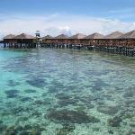 Foto de Sipadan Water Village Resort