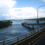 view of Samar province from the bridge