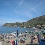 Levanto beach, early morning