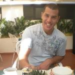 eating breakfast in hotel Al Vivit