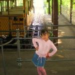 isabella e il trenino ad acqua